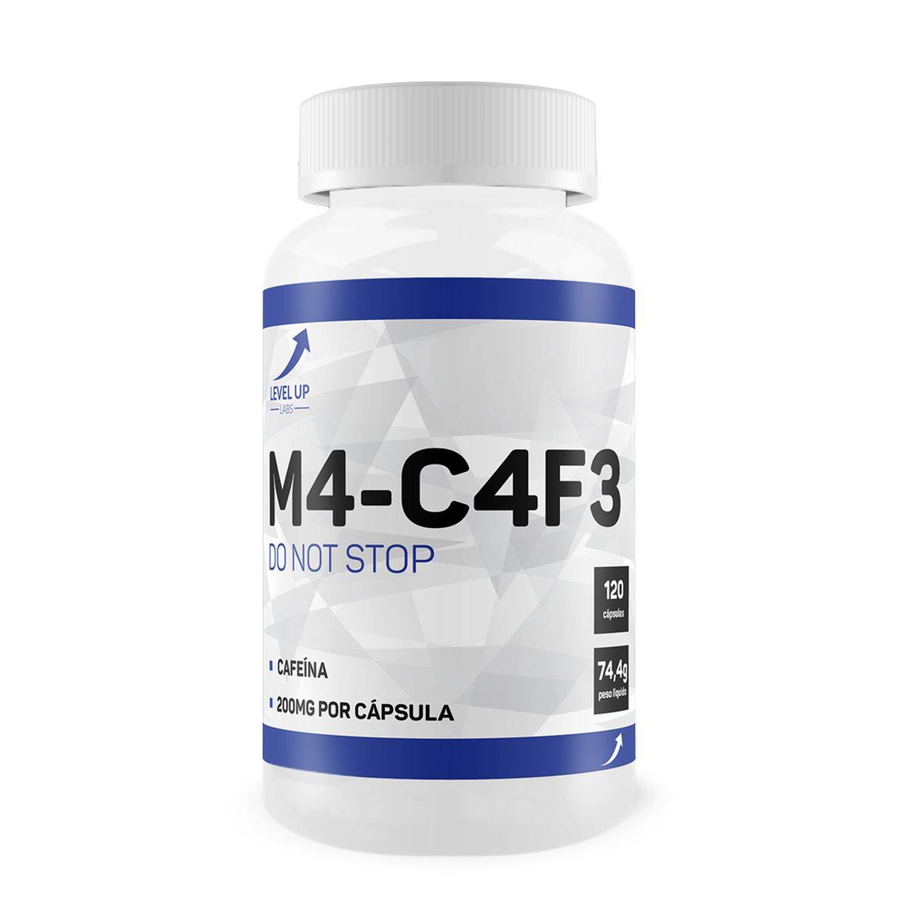 M4-C4F3 (120 caps) - Level Up Labs