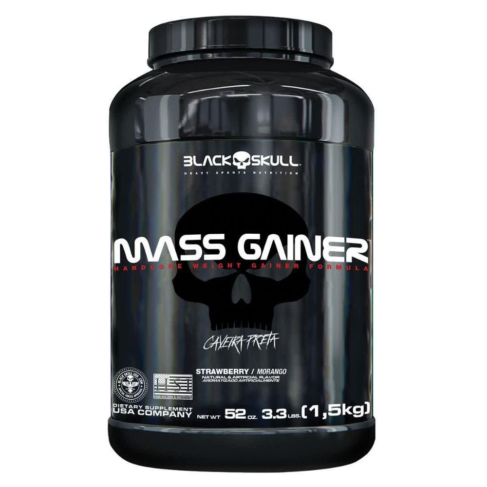 Mass Gainer (1.5kg) - Black Skull