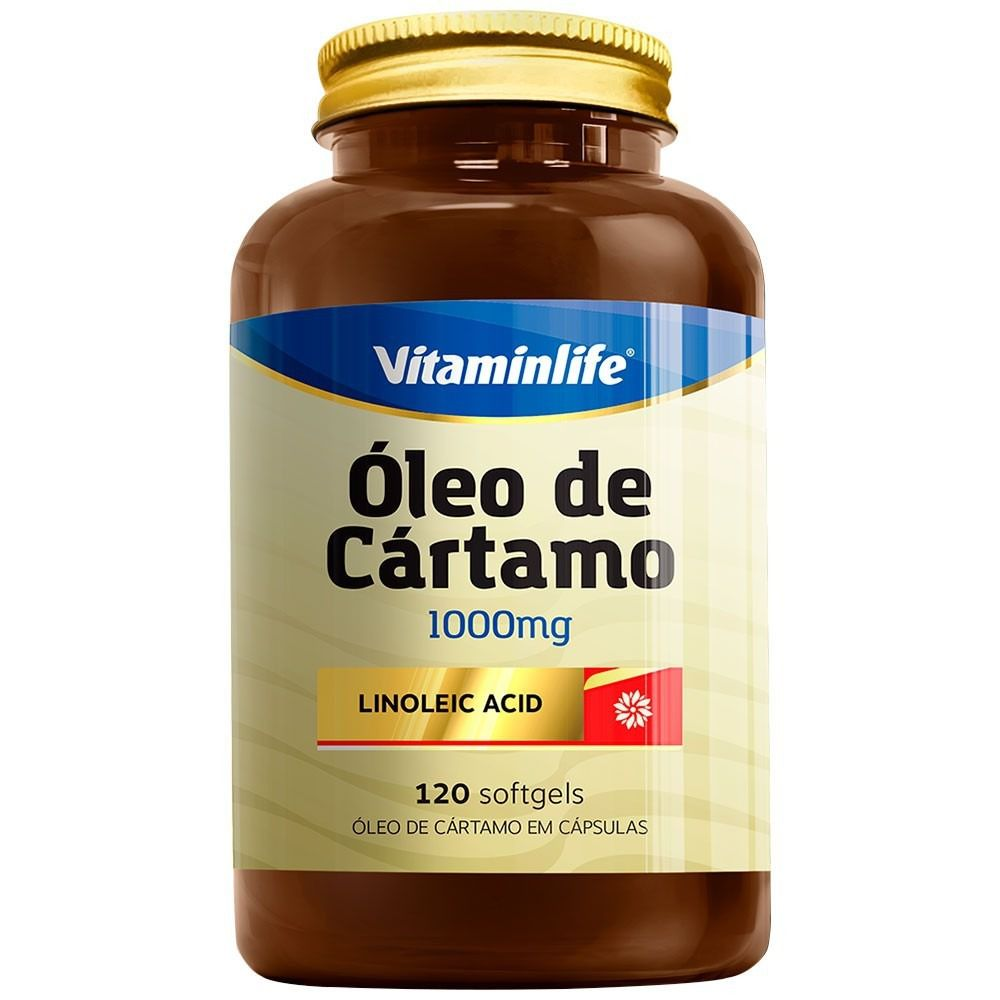 Óleo de Cártamo (120 Solfgels) - Vitaminlife