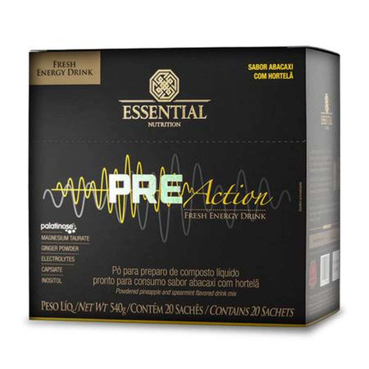 Pre-Action Energy Drink (540g)  - Essential Nutrition