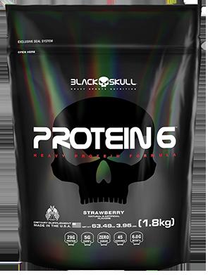 Protein 6 Refil (1.8kg) - Black Skull