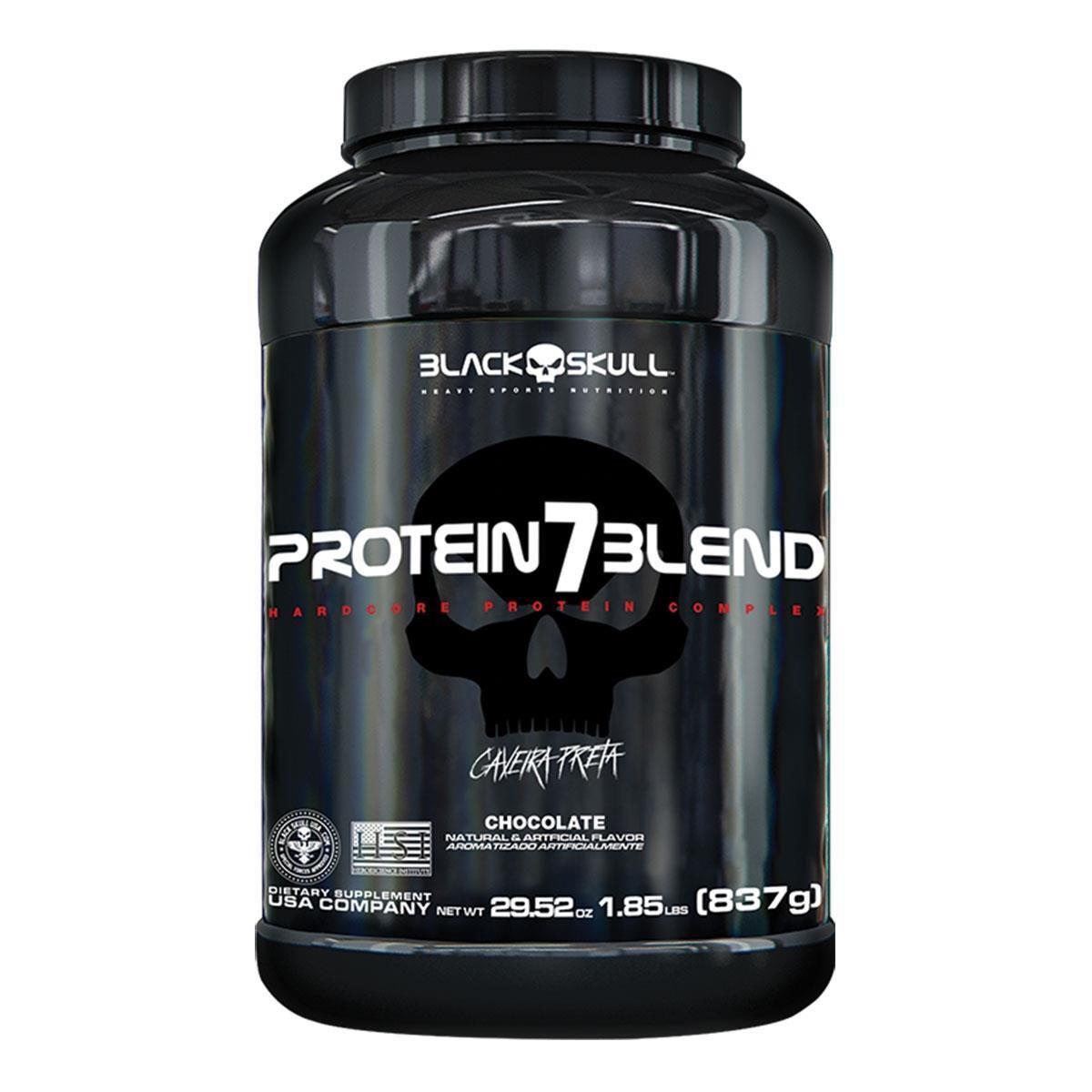 Protein 7 Blend (837g) - Black Skull