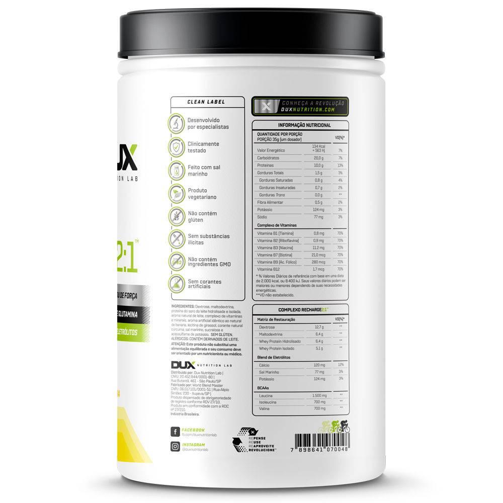 Recharge 2:1 (1kg ) - Dux Nutrition