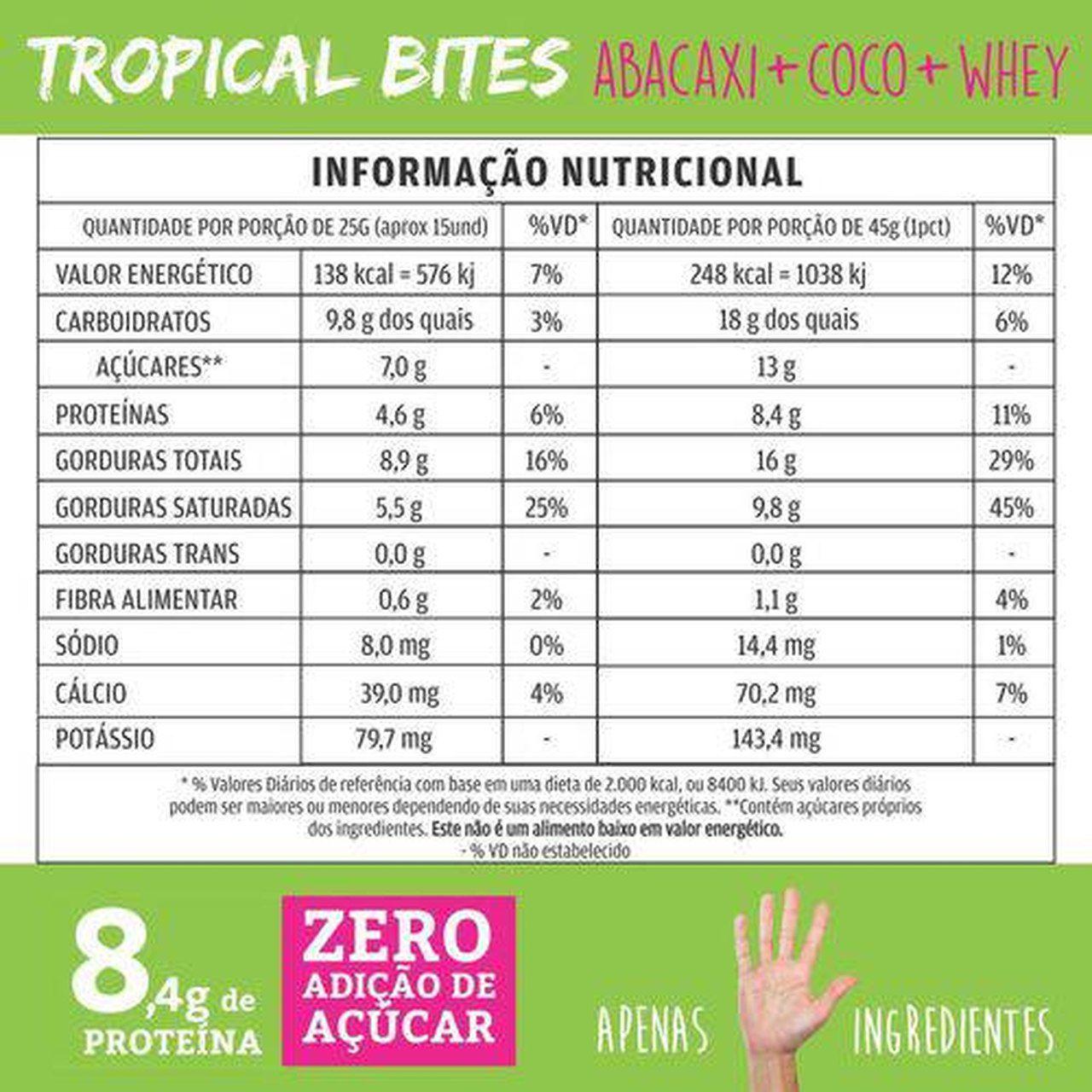 Tropical Bites (45g) - Qpod