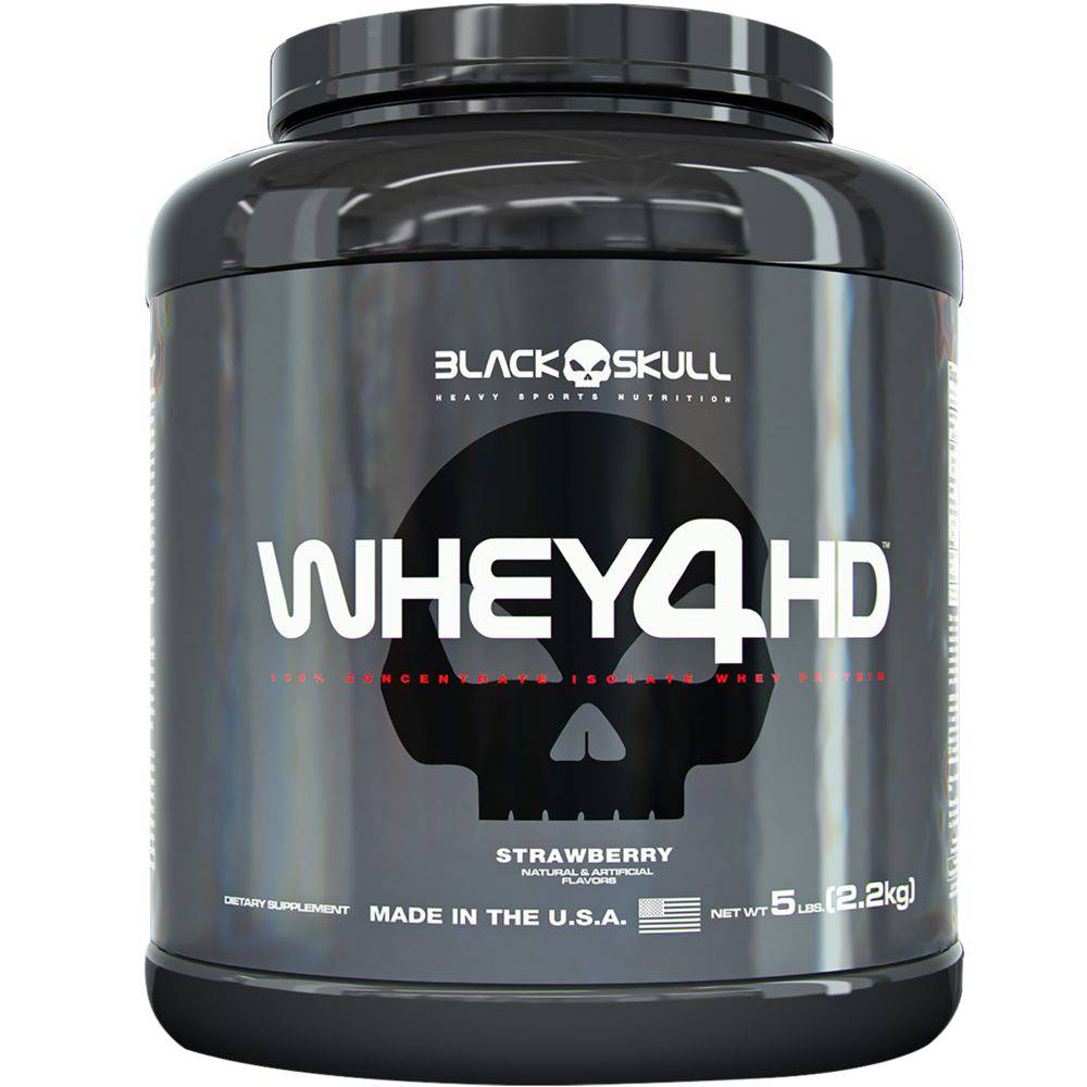 Whey 4HD (2.2kg) - Black Skull