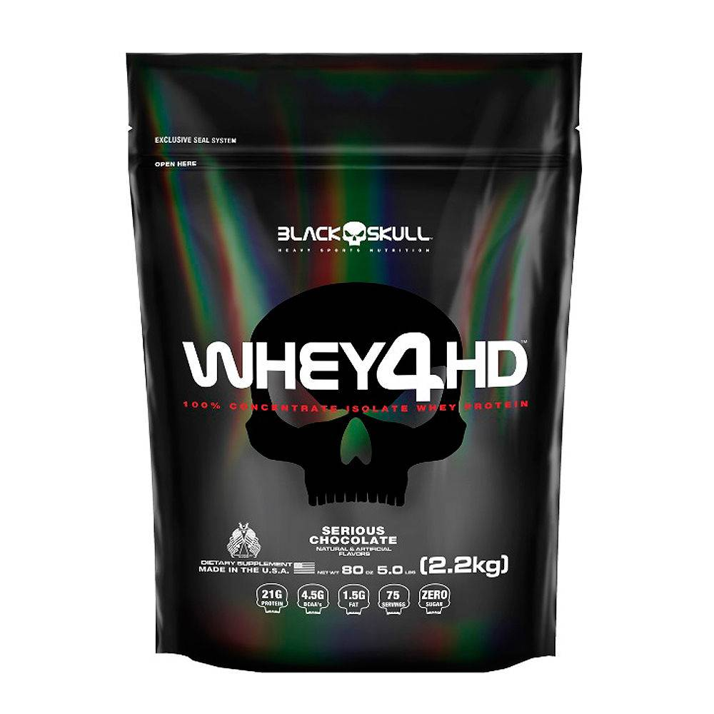 Whey 4HD Refil (2.2kg) - Black Skull