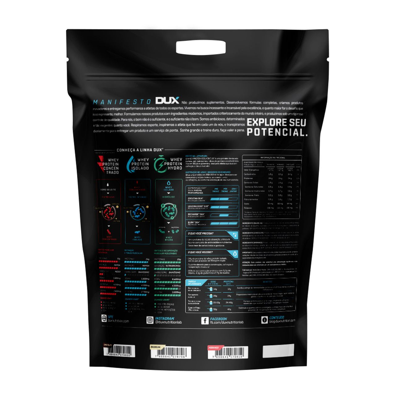 Whey Protein Isolado (1.8kg) - Dux Nutrition