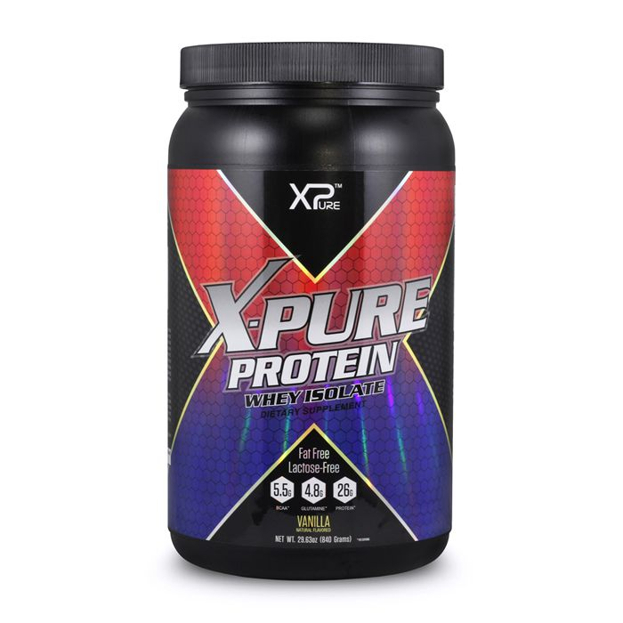 Whey Protein Isolate (840g) - X-Pure
