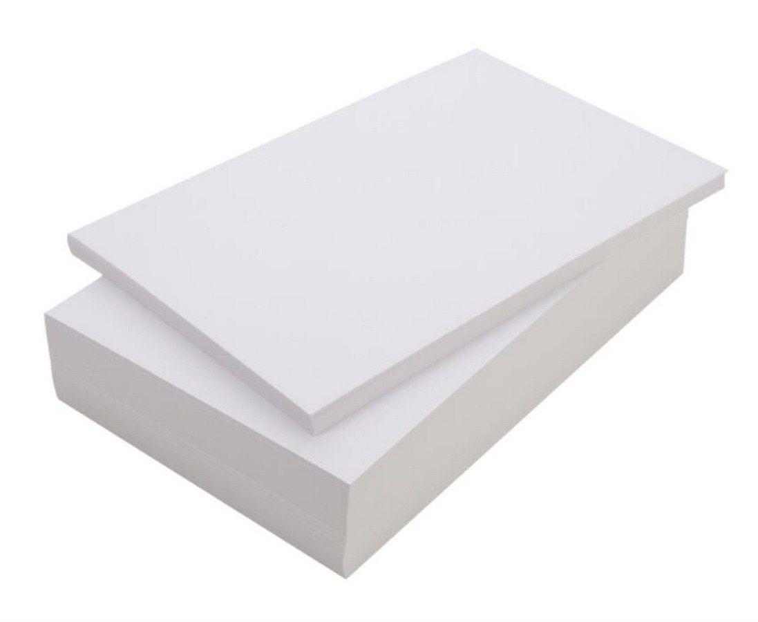Papel Couche Fosco 300g A4 Embalagem Com 1200 Folhas