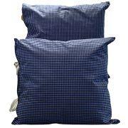 Almofada Azul com Tecido Entreposto