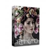 Book Box Raízes Do Feminismo 30x24x4 cm