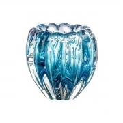 Cachepot de Vidro Murano Aquamarine Nino 12x11cm