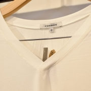 Camiseta Branca em Malha Cheroy