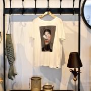 Camiseta Estampada Creme Dzarm