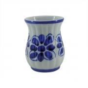 Copo Colonial Azul Floral 200 ml