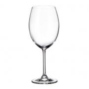 Jogo 4 Taça para Degustação de Vinho Cristal Ecológico 580 ml