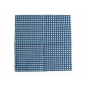 Jogo Americano Quadriculado Azul