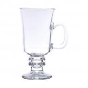 Jogo de 4 Taças para Cappuccino com Alça 295 ml Lyor