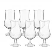 Kit 6 Taças Cerveja de Vidro Transparente 420 ml