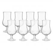 Kit 8 Taças de Vidro Transparente 420 ml