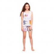 Pijama Feminino Regata e Short Sonhart