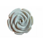 Puxador em Cerâmica em Formato de Rosa