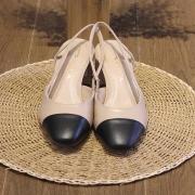 Sapato Tabita Nude e Preto