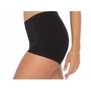 Shorts  Feminino Suave Compressão Basic Preto Plié