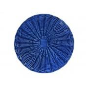 Sousplat Bambu Azul 34cm