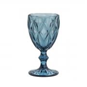 Taça Para Água Diamond 260Ml Lyor Azul