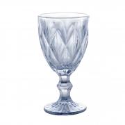 Taça para Água Diamond Azul Metalizado 350 ml Lyor