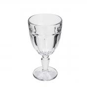 Taça para Agua em Vidro Faces Lyor 330 ml