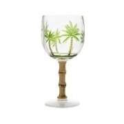 Taça para Água Palm Tree Acrílico 500ml