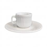 Xícara de Café com Pires Verm 2ª Linha