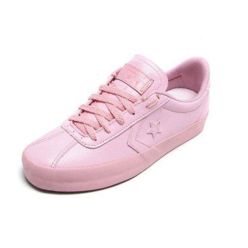 converse rosa claro