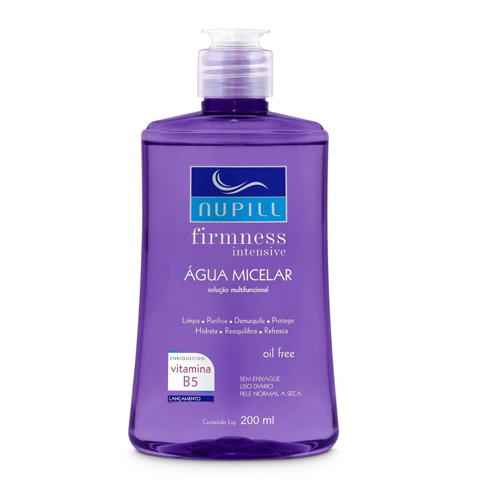 Água Micelar Nupill Firnmess Intensive 200 ml  - Lemis