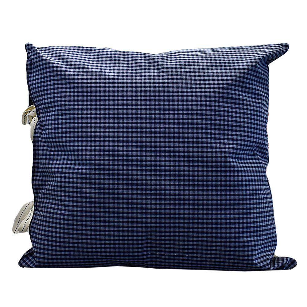 Almofada Azul com Tecido Entreposto  - Lemis