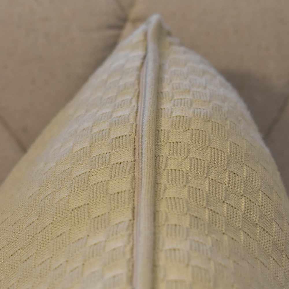 Almofada Lia Areia 50×50  - Lemis