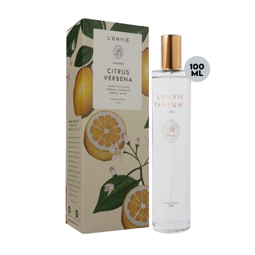 Aromatizante Home Spray Lenvie Citrus Verbena 100ml  - Lemis