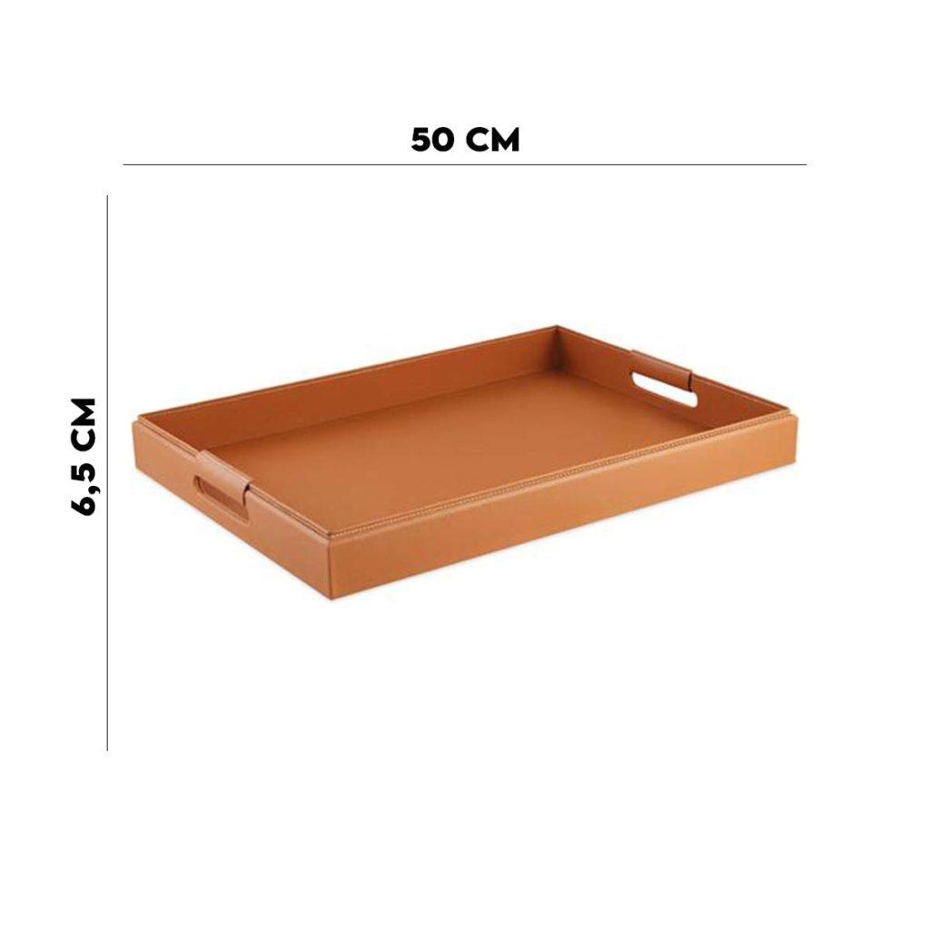 Bandeja MDF com Revestimento em 50×42,5 cm PU  - Lemis