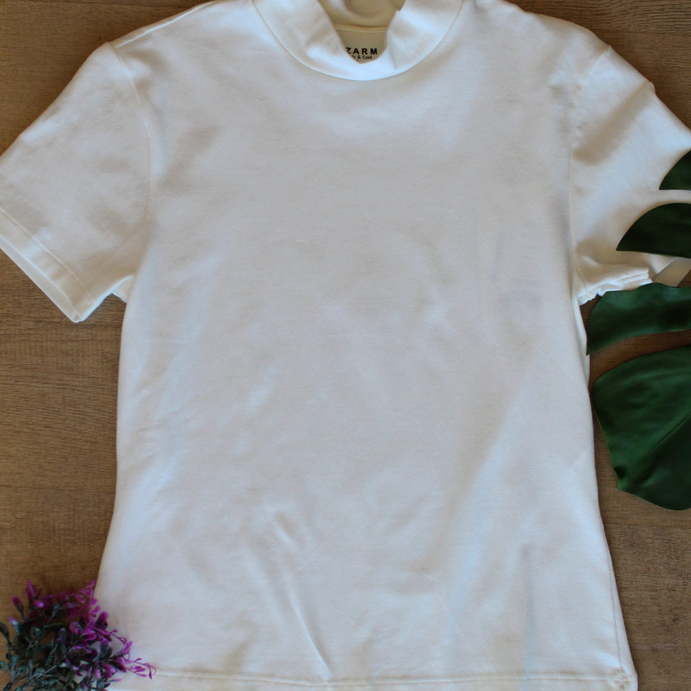 Blusa Feminina Creme Comfy & Cool Dzarm  - Lemis