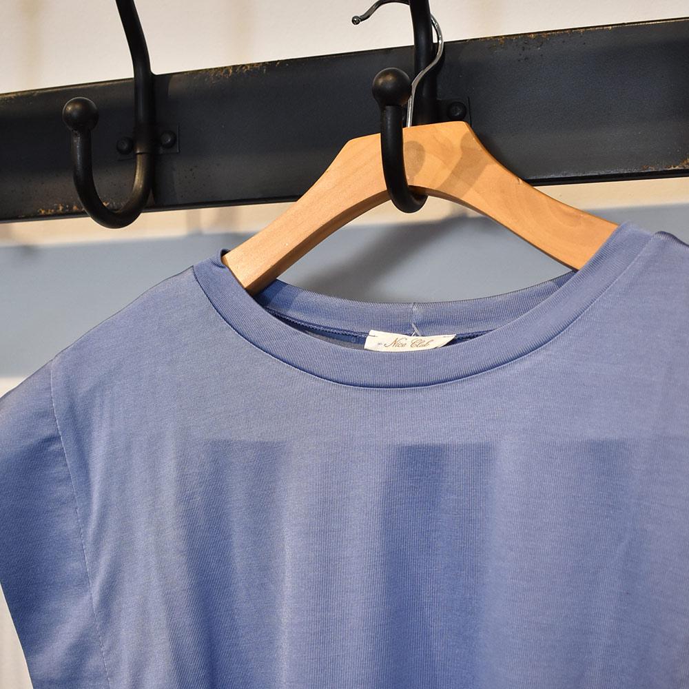 Blusa Muscle Tee Azul Nice Club Amore  - Lemis