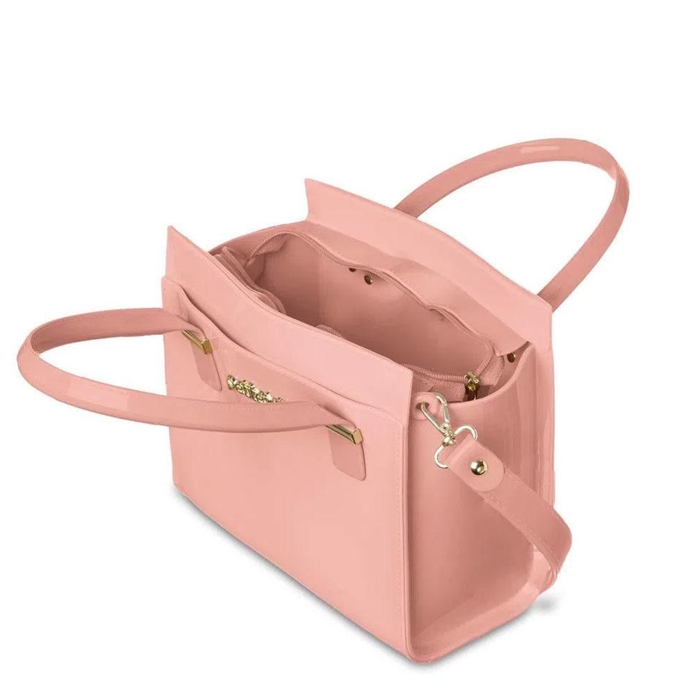 Bolsa Petite Jolie J-Lastic Rosa com alça  - Lemis