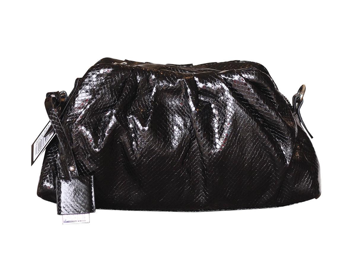 Bolsa Santa Lolla Cobra Preta  - Lemis