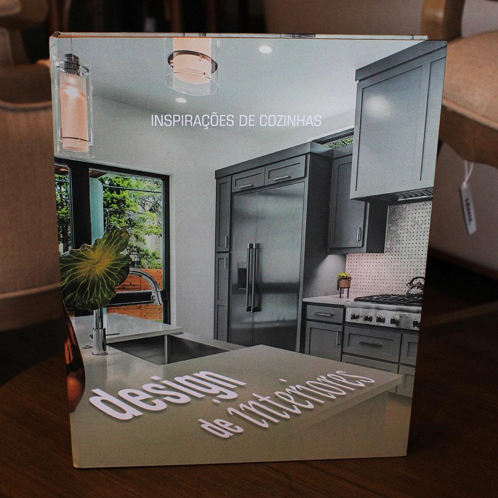 Book Box Inspirações de Cozinha 30x24x4 cm  - Lemis