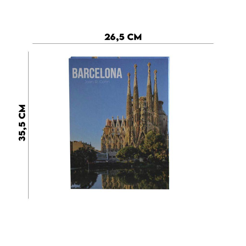 Book Box Papel Rigido Barcelona  - Lemis