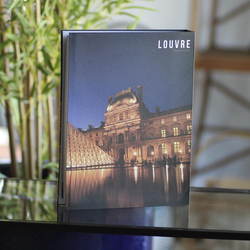 Book Box Papel Rigido Louvre  - Lemis