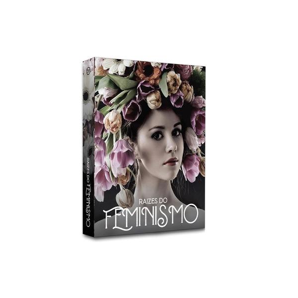 Book Box Raízes Do Feminismo 26x17x4 cm  - Lemis