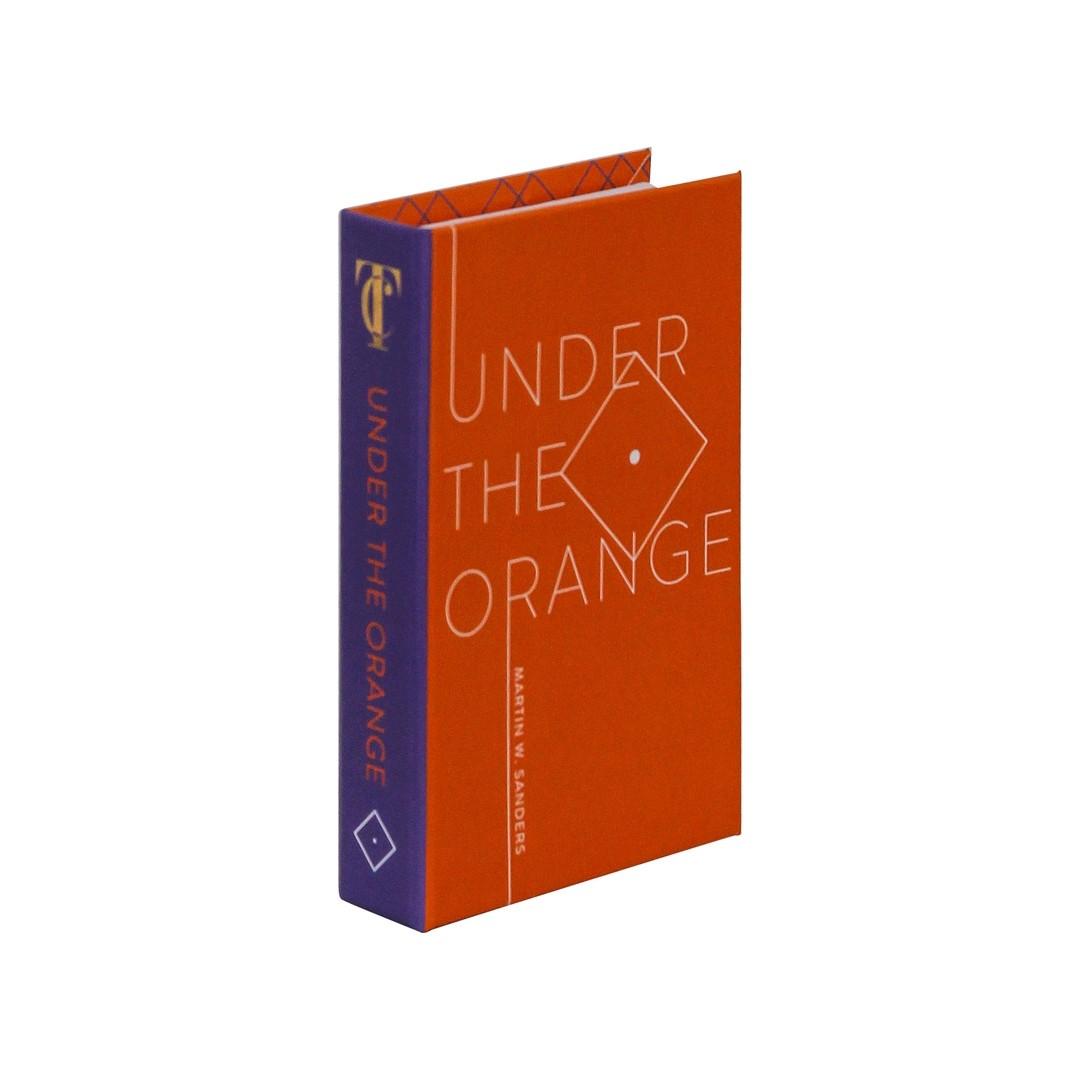 Book Box Under The Orange 14,5x9,5cm  - Lemis