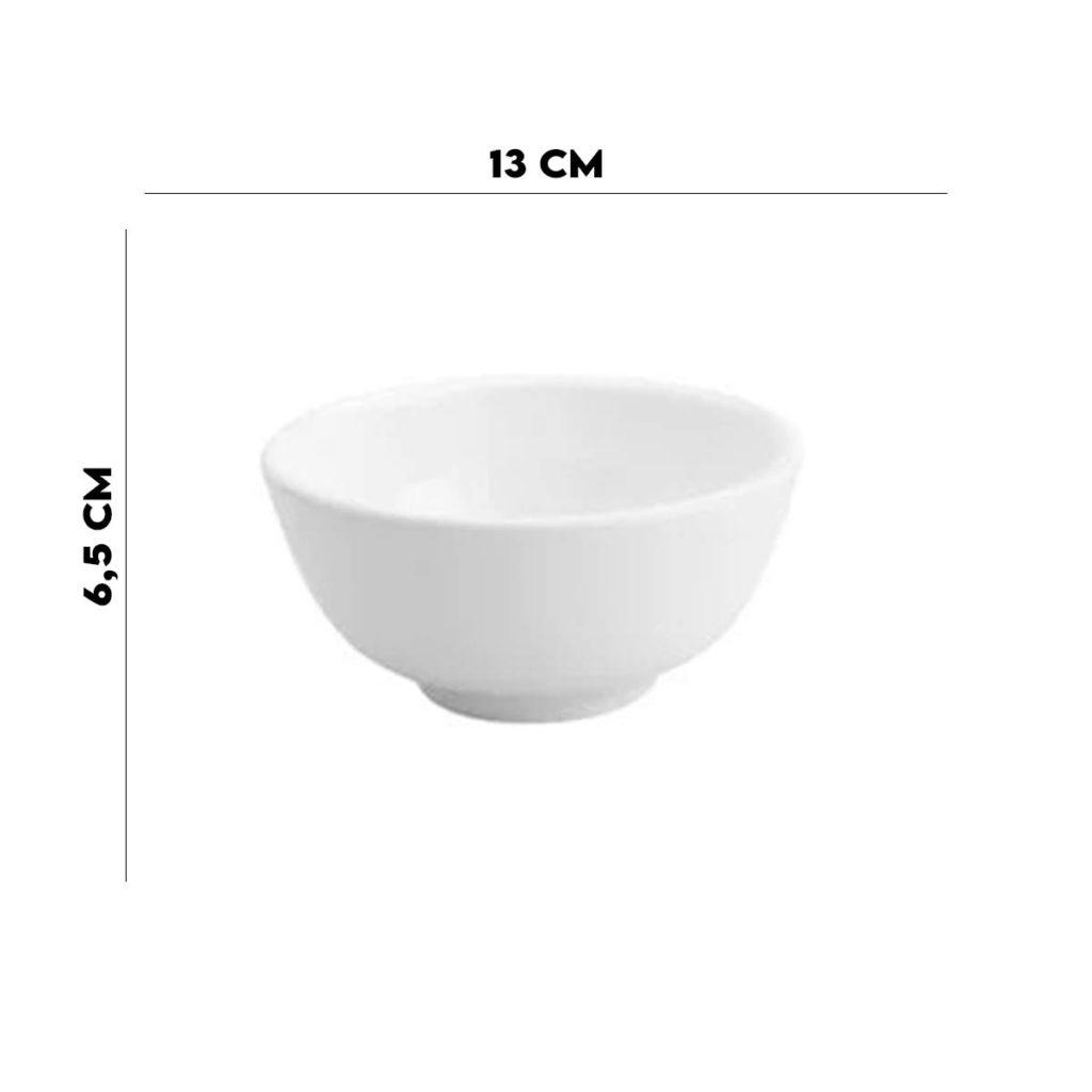 Bowl de Porcelana Branco Clean Lyor  - Lemis
